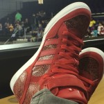 Adidas snakeskins to announce this Harlem Globetrotters game