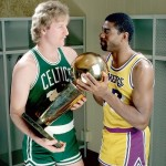 Bird and Magic...Two of the greatest the game has ever seen.