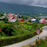 I rode horseback through this beautiful Irish town.